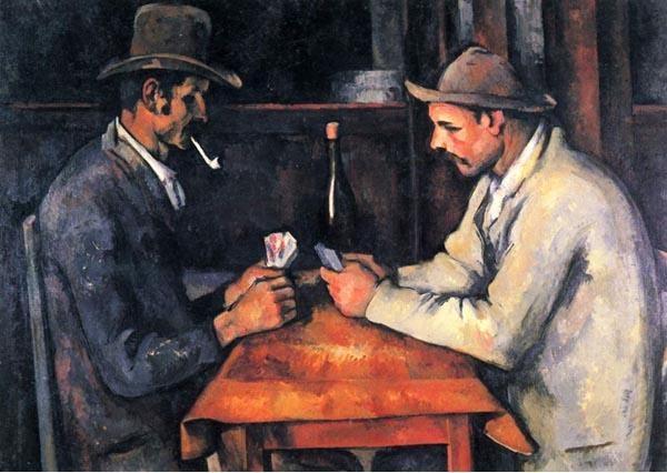 Paul Cézanne: Kártyások, kb. 1890-96 (A Metropolitan Museum of Art gyűjteményéből)