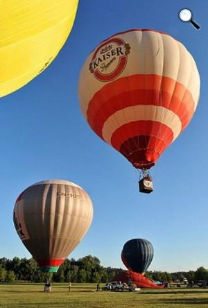 31. Magyar Nemzeti Bajnokság és a 11. Debrecen Kupa Nemzetközi Hőlégballonverseny (MTI Fotó: Czeglédi Zsolt)