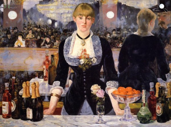 Édouard Manet - A Folies-Bergeres bárja, 1882 (Courtauld Institute of Art)