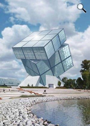 Rubik-kockát formázó múzeum épülhet - MTI Fotó: illusztráció