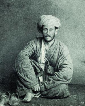 Vambéry Ármin dervis ruhában, 1860