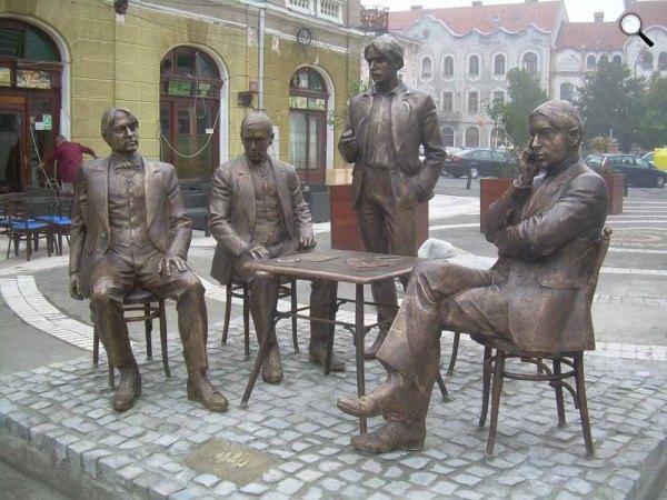 Holnaposok szobor, Nagyvárad (Fotó: Sükösd T. Krisztina)