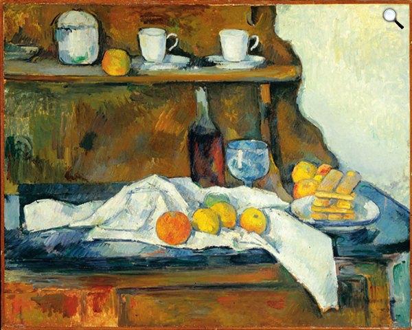Paul Cézanne: Tálaló
