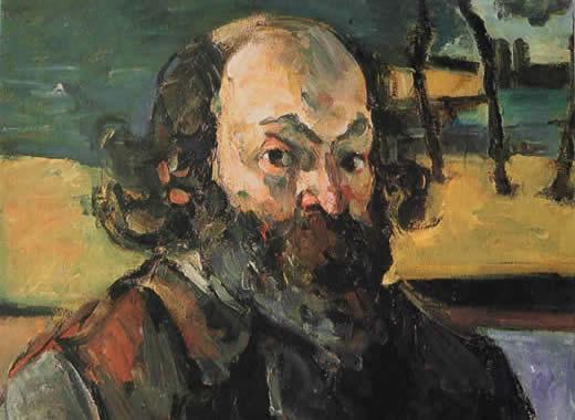 Paul Cézanne, Önarckép