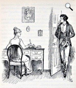 Jane Austen, Pride and Prejudice, illusztráció, 1894