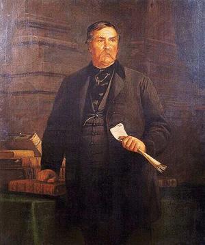 Székely Bertalan: Deák Ferenc, 1869