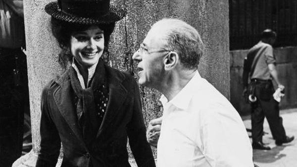 George Cukor és Audrey Hepburn, My Fair Lady, 1964 (Forrás: TCM.com)