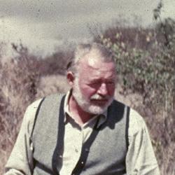 Ernest Hemingway, Afrika (Forrás: Jfklibrary.org )