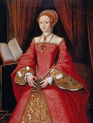 I. Erzsébet, 1546, ismeretlen festő (Royal.gov.uk)