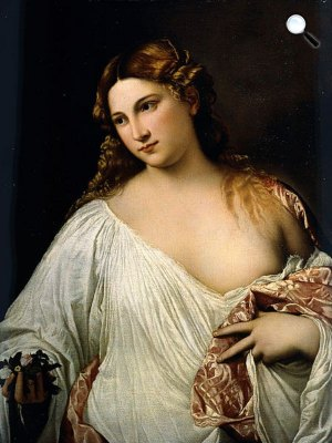 Tiziano: Flora, 1515 körül