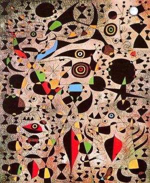 Joan Miró: Madár által körberepült nők, 1941 (joanmiro.com)