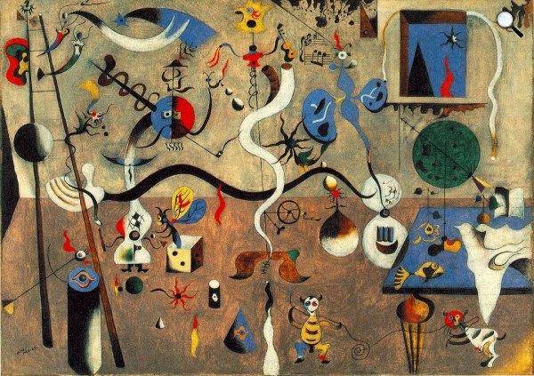 Joan Miró: A harlequin karneválja, 1924-1925