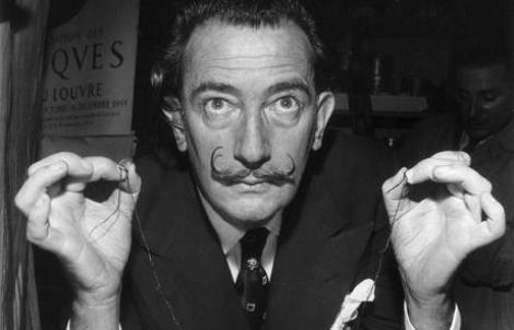 Salvador Dalí  (Fotó: salvador-dali.org)