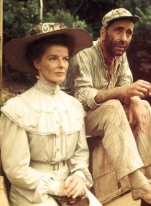 Afrika királynője, Katharine Hepburn, Humphrey Bogart