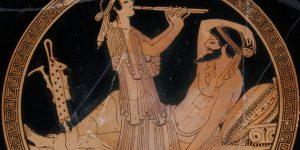 ókori görög kerámia, zenei díszítés