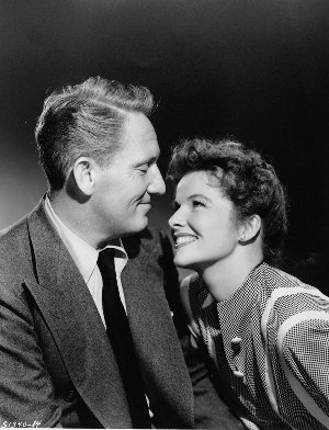 Katharine Hepburn és Spencer Tracy (Forrás: allmovie.com)