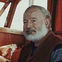 Ernest Hemingway, 1950 (Forrás: jfklibrary.org)