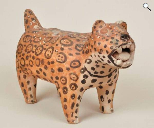 Boglár Lajos, jaguár kerámia, Néprajzi Múzeum (Fotó: Sarnyai Krisztina)