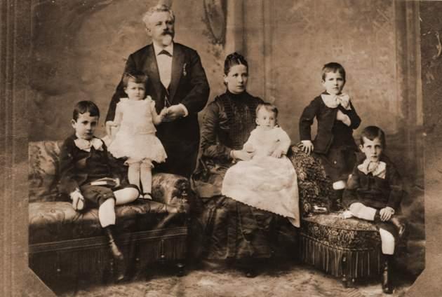 Gundel János és családja (Gundel Szakácskönyv)