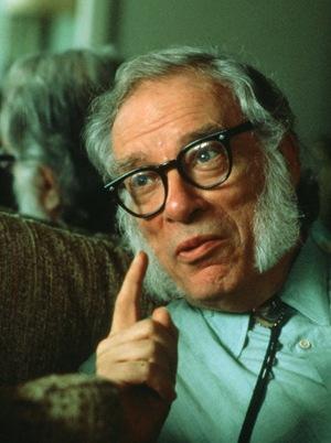 Isaac Asimov (fotó: Biography.com)