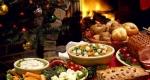 Karácsonyi asztal, ételek (Fotó: pixabay.com)