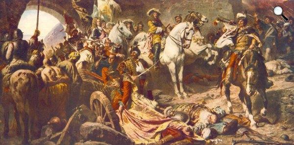 Benczúr Gyula: Budavár visszavétele, 1896, MNG