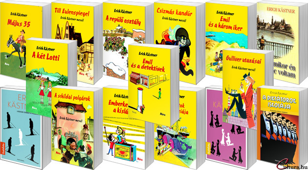 Erich Kästner-könyvek (fotó: Cultura)