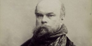 Paul Verlaine, 1893 (Fotó: Otto Wegener, NYPL Digital Library)