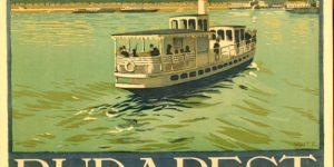 Időutazni jó! - Budapest plakát, 1920-30 (Fotó: OSZK)