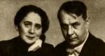 Harmos Ilona és Kosztolányi Dezső (Fotó: OSZK)