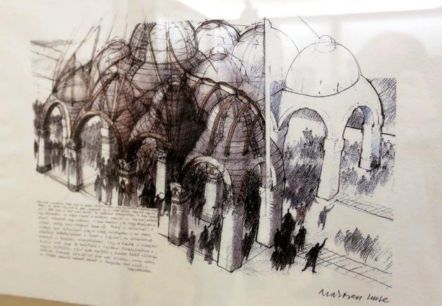 Makovecz-kiállítás, Pesti Vigadó (Fotó: Thaler Tamás)