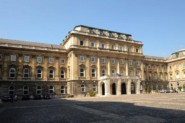 Országos Széchényi Könyvtár, Budapest (Fotó: OSZk)