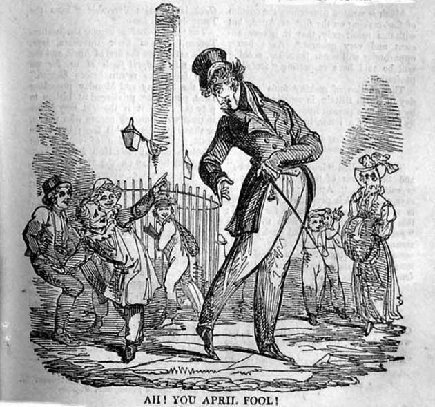 Április 1. Bolondok napja, illusztráció (Fotó: Gutenberg.org)