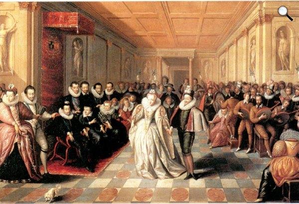 Medici Katalin és Henry esküvői bálja, Louvre, 1581 (Fotó: Louvre)