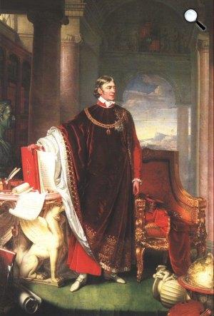 Johann Ender: Széchényi Ferenc portréja (Fotó: OSZK)