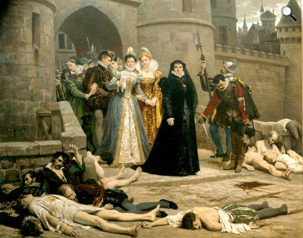 Édouard Debat-Ponsan: Un matin devant la porte du Louvre, 1880 (Fotó: Wikimédia)