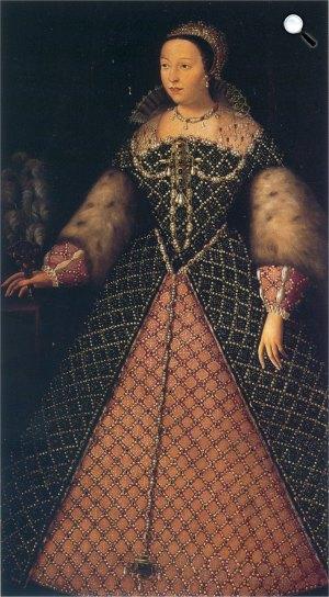 Medici Katalin, 1547 -1559 (Fotó: Uffizi Képtár )