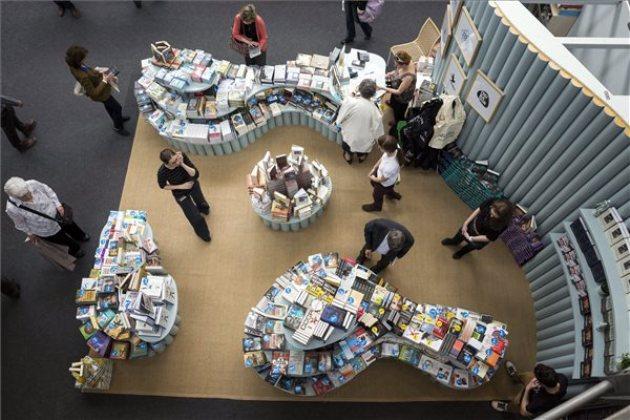 Budapesti Nemzetközi Könyvfesztivál (MTI Fotó: Mohai Balázs)