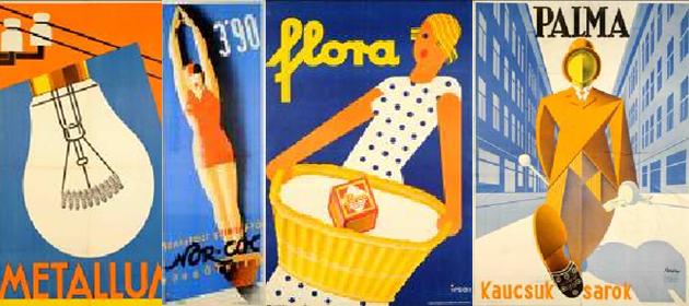 A modern magyar kereskedelmi plakát 1924-1942 (Fotó: OSZK/IMM)