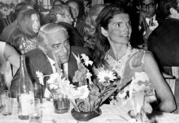 Aristoteles Onassis és Jacqueline Kennedy (Fotó: Wikimédia)
