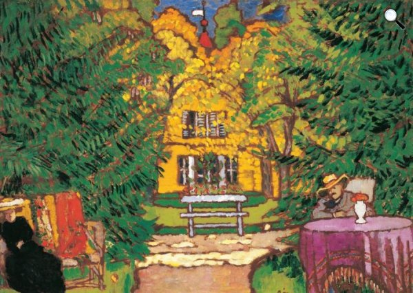 Rippl-Rónai József: Róma-villa, 1910 körül (Fotó: Wikimédia)