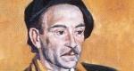 Szentgyörgyi Kornél: Jékely Zoltán portréja (Fotó: MEK/OSZK)