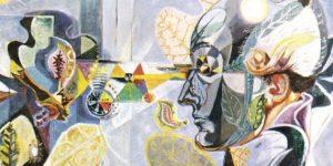 André Masson: Goethe és a növények metamorfózisa, 1940 (Fotó: Wikimédia)
