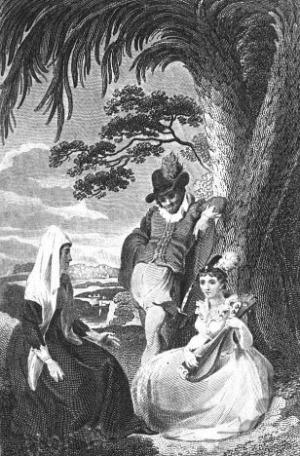 Ann Radcliffe: Udolpho, 1806 illusztrált kiadás (Fotó: Wikipédia)