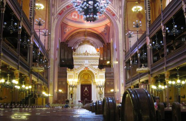 Dohány utcai zsinagóga, Budapest (Fotó: Wikipédia)