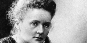 Marie Sklodowska Curie, 1901 (Fotó: Wikimédia)