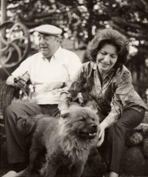 Pablo Neruda és Matilde Urrutia (Fotó: Listal.com)