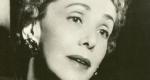 Darvas Lili színésznő, Molnár Ferenc felesége, 1957 (Fotó: 168 óra)