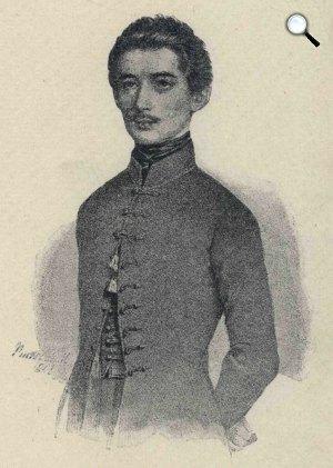 Barabás Miklós: Petőfi Sándor, 1845 (Fotó: PIM)
