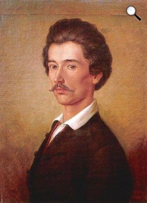 Orlai Petrich Soma: Petőfi Sándor (1840-es évek) (Fotó: Wikipédia)